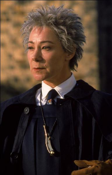 Quel rôle joue madame Bibine dans les matches de Quidditch ?
