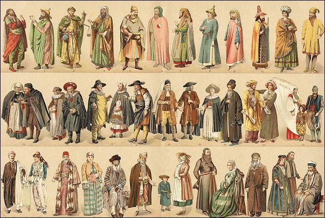 Présents dès l'Antiquité (notamment exilés par l'empereur Auguste), ils représentent jusqu'à 1 % de la population française jusqu'au XIVe s. Qui sont-ils ?