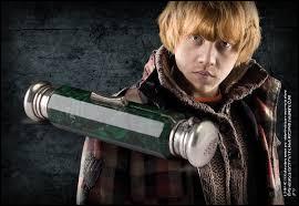 Que lègue Dumbledore à Ron ?
