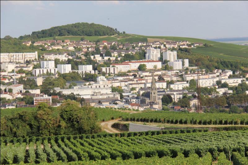 Situation : dans quel département de la région Grand Est, la ville d'Épernay est-elle située ?
