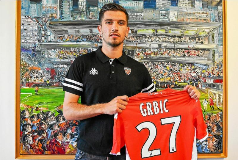 Quelle est la nationalité d'Adrian Grbic (FC Lorient) ?