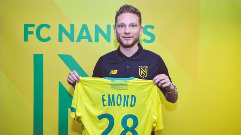 Quelle est la nationalité de Renaud Emond (FC Nantes) ?