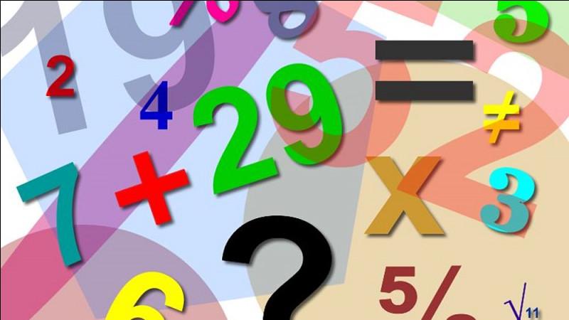 Quel est le résultat de 9 x 7 ?