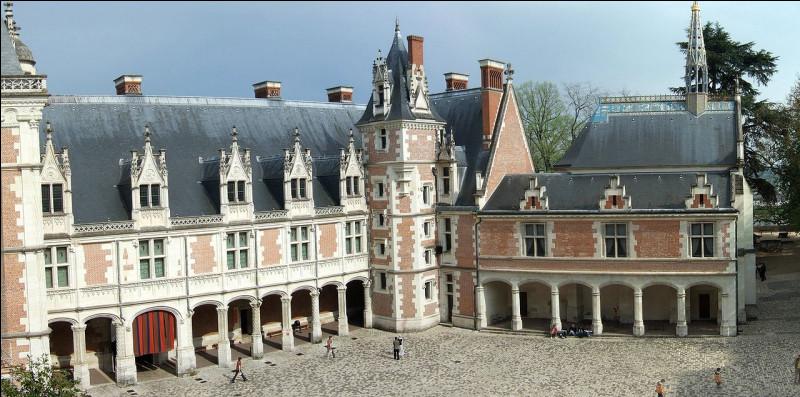 Majestueux château du Val de Loire, que celui qui fut la résidence de Louis XII, témoin de la Renaissance, on y visite la chapelle Saint-Calais :