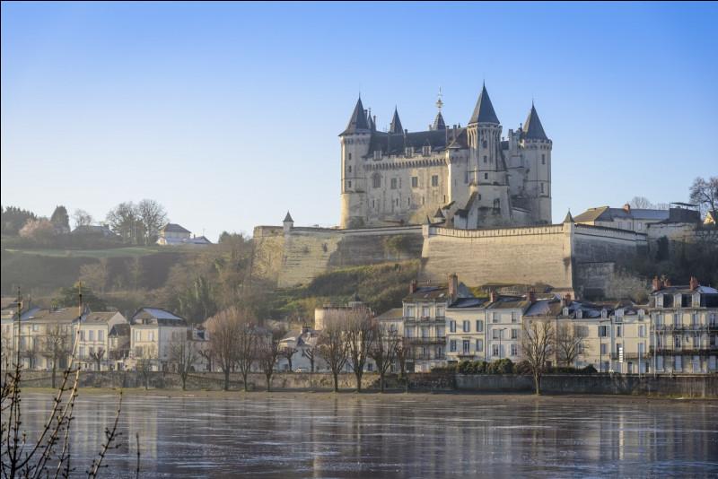 Racheté par l'État en 1906, il fut la résidence des gouverneurs de la ville, puis une prison, quel est ce château du département du Maine-et-Loire ?