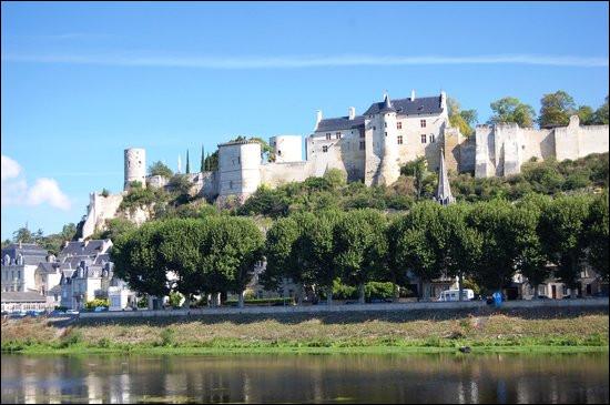 C'est la seule forteresse médiévale du Val de Loire, Jeanne d'Arc y rencontra le dauphin qui allait devenir le roi Charles VII :