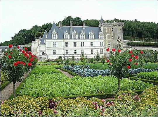 Le château de Villandry est connu pour son extérieur. Que souhaitent voir les visiteur en plus du château en lui même ?