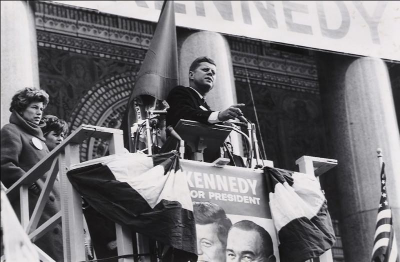 Kennedy est élu président des Etats-Unis, le 8 novembre ...