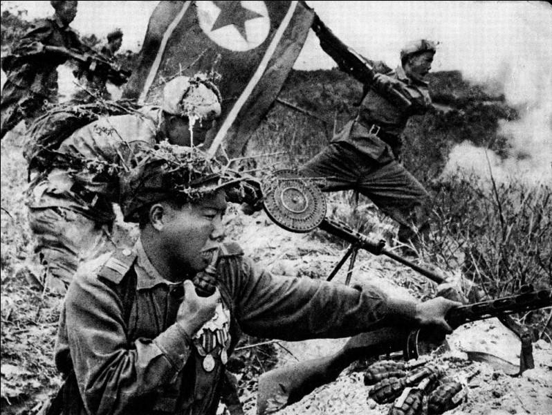 C'est le début de la guerre de Corée, le 25 juin ...