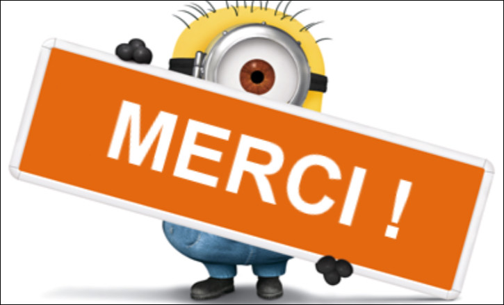 "Comment dit-on ""merci"" en anglais ?"