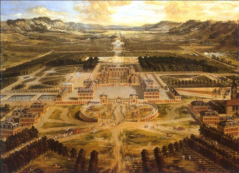Ah oui ! La mémoire lui est revenue. Après, elle et sa famille visiteront le grand château de Louis XIV. Où se trouve ce grand château représenté sur ce tableau ?