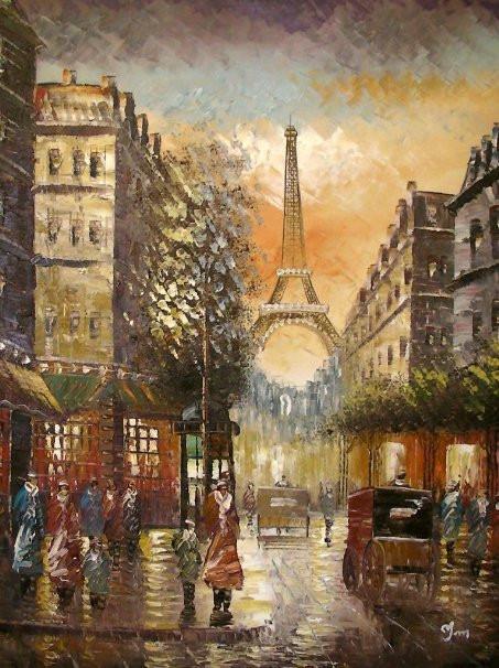 Voyage en France en peinture