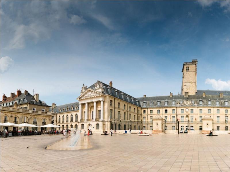 Dans quel département se trouve Dijon ?