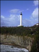 Quand a-t-on construit le phare de Biarritz ?