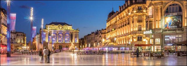 Situé à 200 km à l'est de Toulouse, le chef-lieu de l'Hérault est la deuxième ville la plus peuplée d'Occitanie après la ville rose. Comment s'appelle le chef-lieu de l'Hérault ?