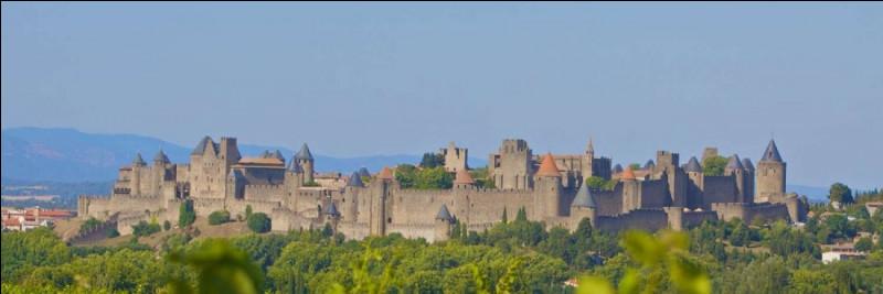 Cité médiévale la plus connue d'Occitanie, cette ville se trouve être le chef-lieu du département de l'Aude. Où se trouve cette cité médiévale ?