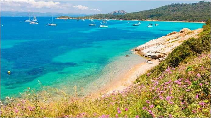 Située dans le prolongement de la presqu'île de Giens, elle est la plus grande des îles d'Hyères.À découvrir : au nord, le port et des plages de sable fin ; au sud, des falaises et des calanques ; entre les deux, des vignobles et une flore remarquable. Où êtes-vous ?