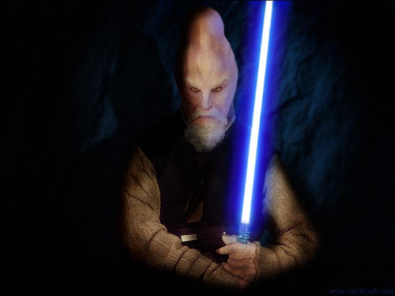 Il est né sur Céréa, il devint chevalier Jedi à 25 ans :