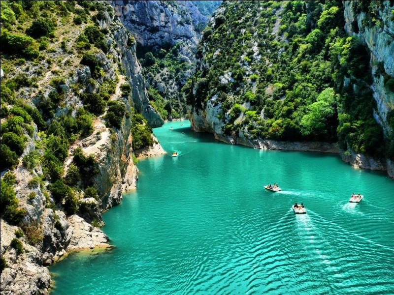 Prochaine étape : les gorges du Verdon, avec leurs eaux claires et turquoises ! Même les plus réticents auront envie d'y aller et de se baigner ! Pas vous ? C'est l'un des plus beaux paysages français ! En quelle année sont-elles devenues un site naturel protégé ?