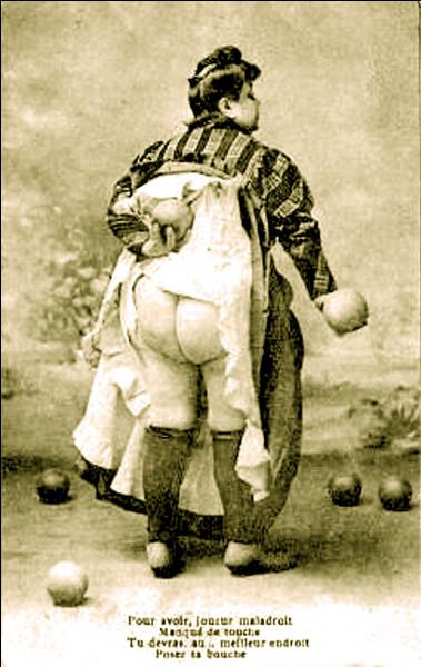 Récompense ou humiliation ? Lors d'une partie de boules, quelle condition faut-il remplir pour ''embrasser Fanny'' ?