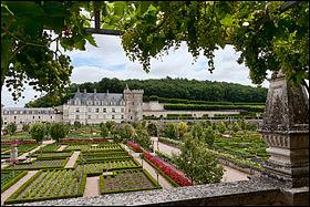 Centre-Val de Loire - Le Château de Villandry. Dans quel département ce château et ses magnifiques jardins se trouvent-ils ?Indice : Tours