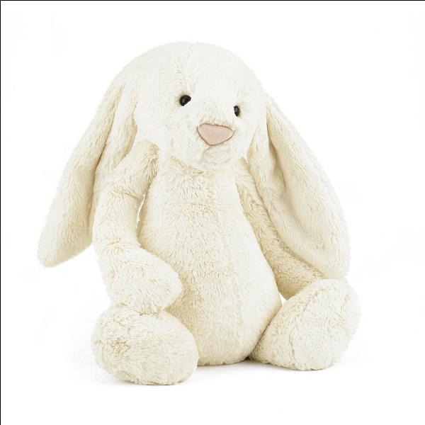 Est-ce que c'est un vrai lapin ?