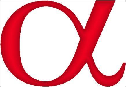 Quelle est la première lettre de l'alphabet grec ?