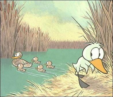 Qu'était en réalité le vilain petit canard ?