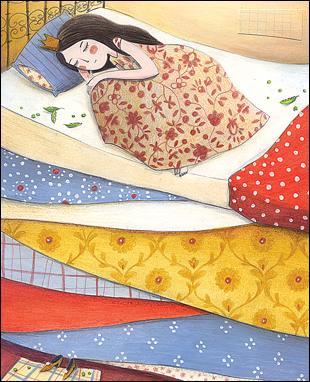 Quel légume a le pouvoir d'empêcher une vraie princesse de dormir ?