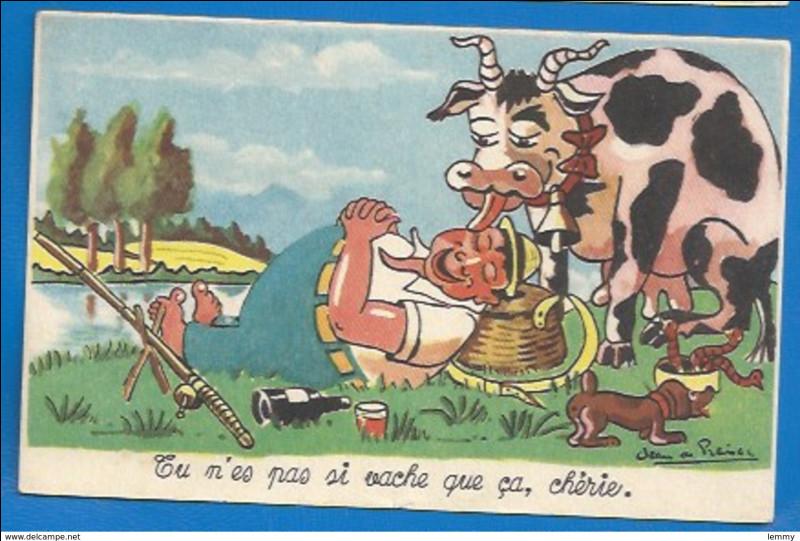 On l'appelle la simmental, elle est d'origine allemande, mais très présente en France !