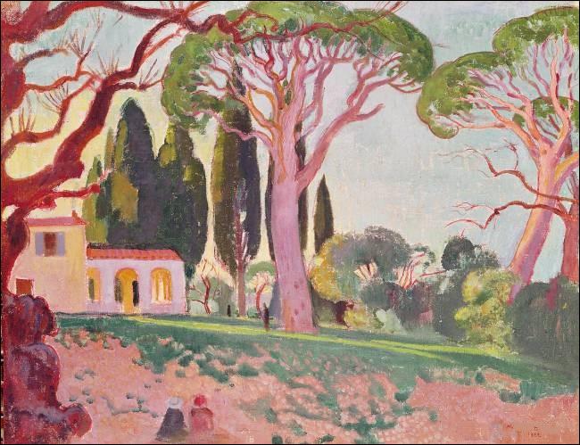 """À qui doit-on la toile intitulée """"La Chapelle Saint-Cassien à Cannes"""" ?"""