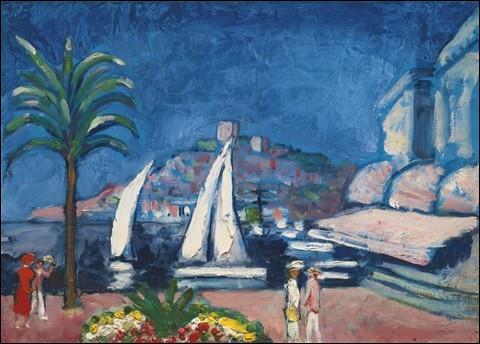"""Qui a peint """"Cannes, le Mont Chevalier"""" ?"""