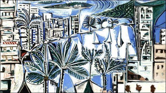 """Qui a peint """"La baie de Cannes"""" ?"""