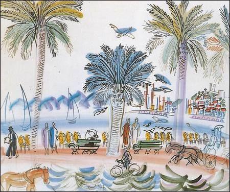 """Qui a peint """"Cannes, vue du Suquet"""" ?"""