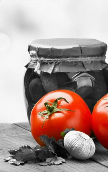 Dans lequel de ces mets la tomate n'intervient-elle pas ?