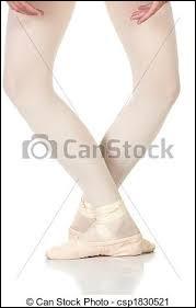 Quelle est cette position de pied ?