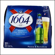 """Quelle est la devise de la marque de bière """"1664"""" ?"""