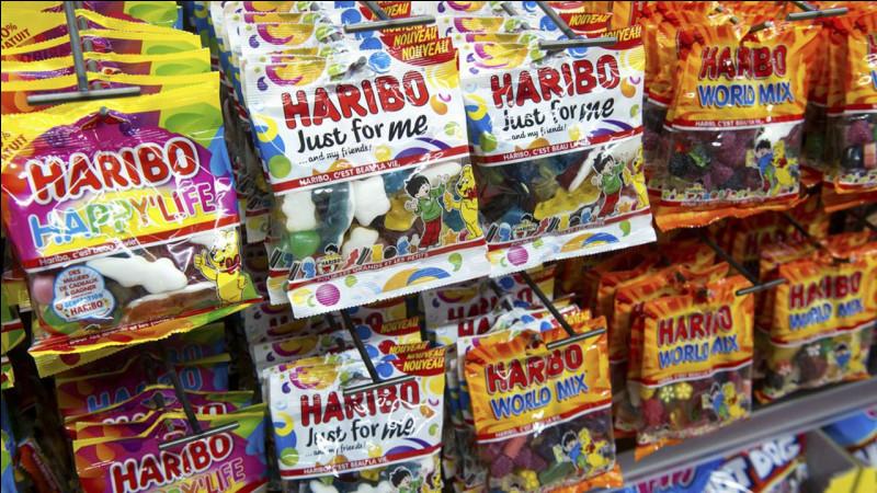 """Quelle est la devise de la marque """"Haribo"""" ?"""