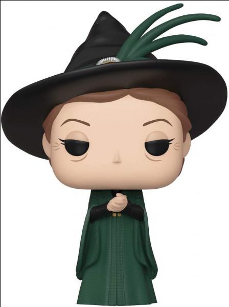 Qui incarne le professeur McGonagall ?