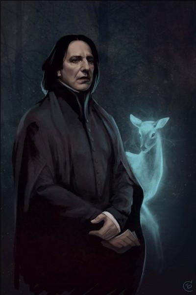 Quel acteur incarne Severus Rogue, et qui est malheureusement décédé ?