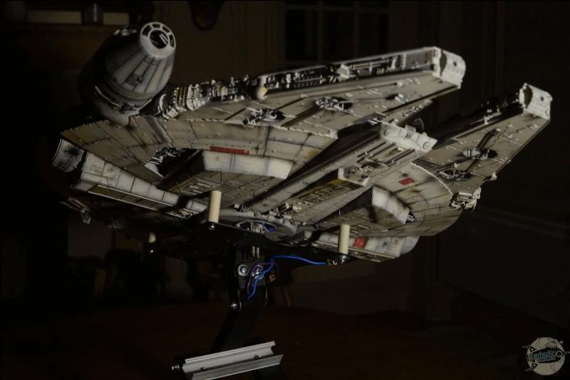 Comment se nomme le vaisseau de Han ?