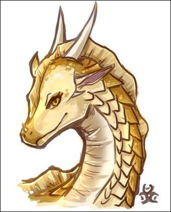 Comment s'appelle la reine des Ailes de Sable que les dragonnets du Destin ont choisie ?