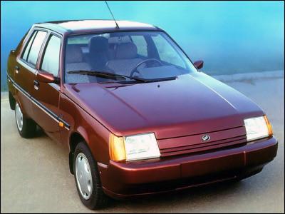 Il faudra remonter le temps avec certaines d'entre-elles puisqu'elles ont eu une longue durée de production dont celle-ci. Quelle est cette voiture venue d'Ukraine ?
