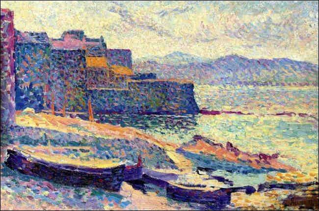 """Qui a immortalisé sur sa toile, """"Le Port de pêche à Saint-Tropez ?"""