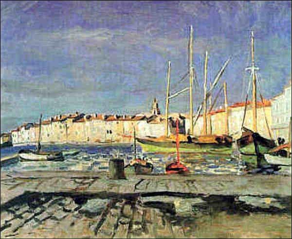Quel artiste a représenté Saint-Tropez ?