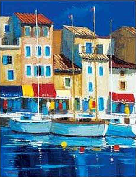 """À qui doit-on ce tableau de """"Saint-Tropez"""" ?"""