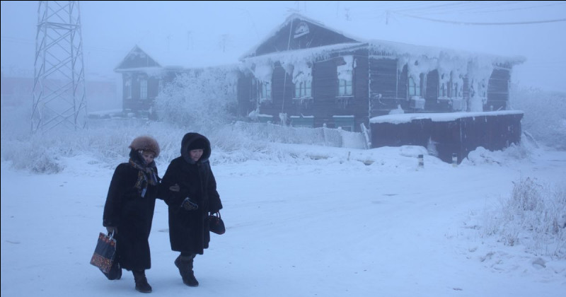 Quelle est la ville la plus froide du monde ?