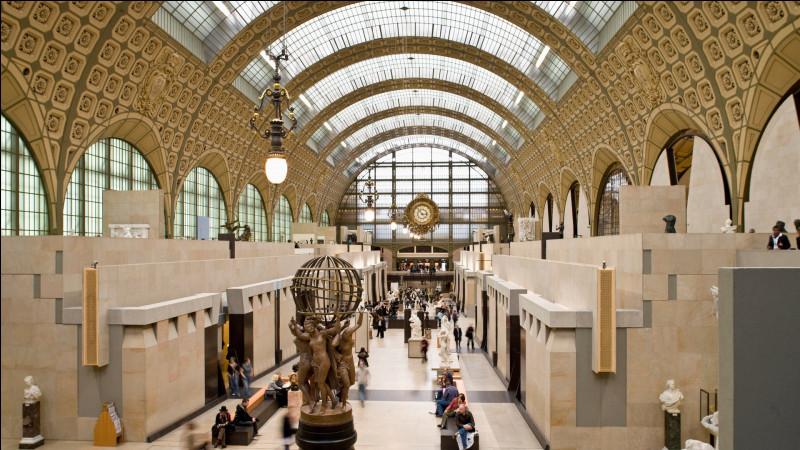 Nous retrouvons à la septième place le musée d'Orsay ! Qu'était-il avant de devenir un musée ?