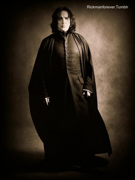 Comment Lily Potter a surnommé Severus Rogue ?