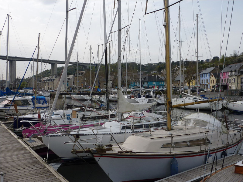 Quel est le nom de cette autre ville portuaire bretonne ?